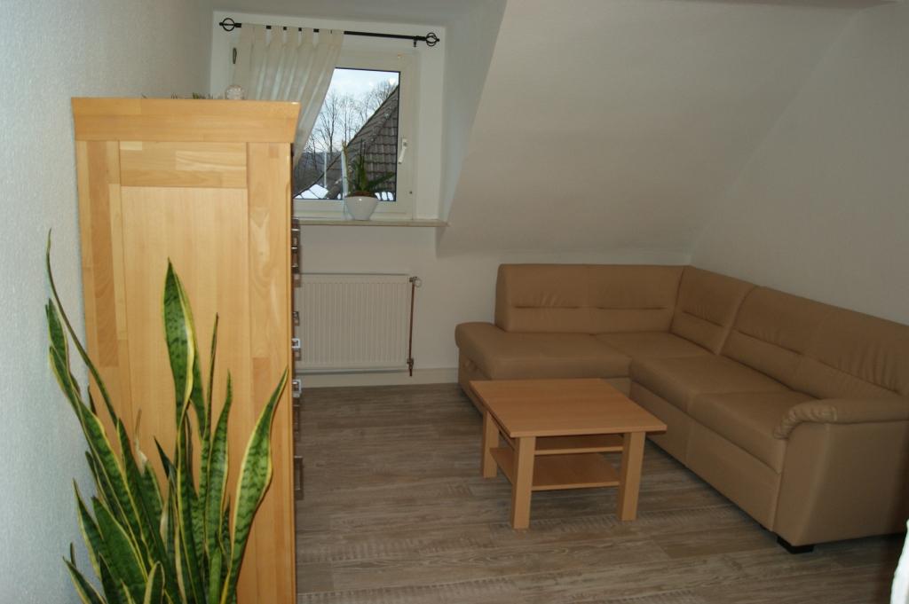 Ferienwohnungen Sidun - Hattingen / unser Wohnzimmer aus einer anderen Perspektive