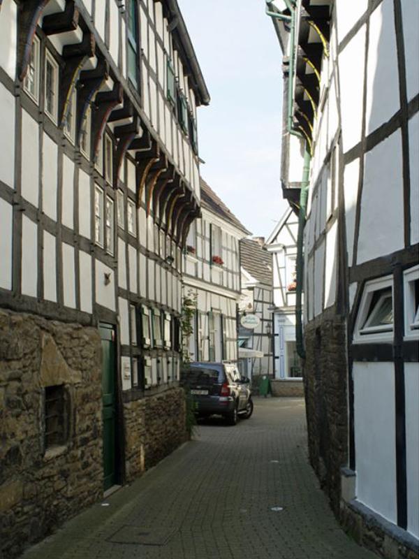 Ferienwohnungen Sidun - Hattingen / Schmale Gasse in der Altstadt