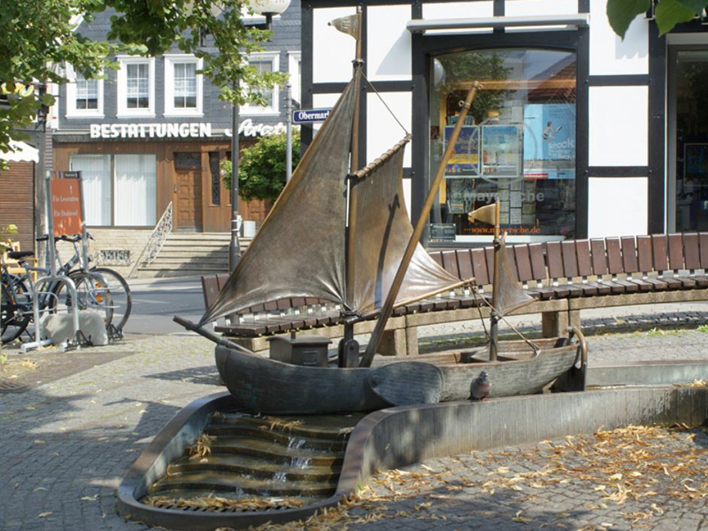Ferienwohnungen Sidun - Hattingen / Der Treidelbrunnen